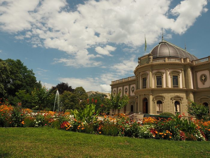 View of the Ariana Museum in Geneva photo via Depositphotos