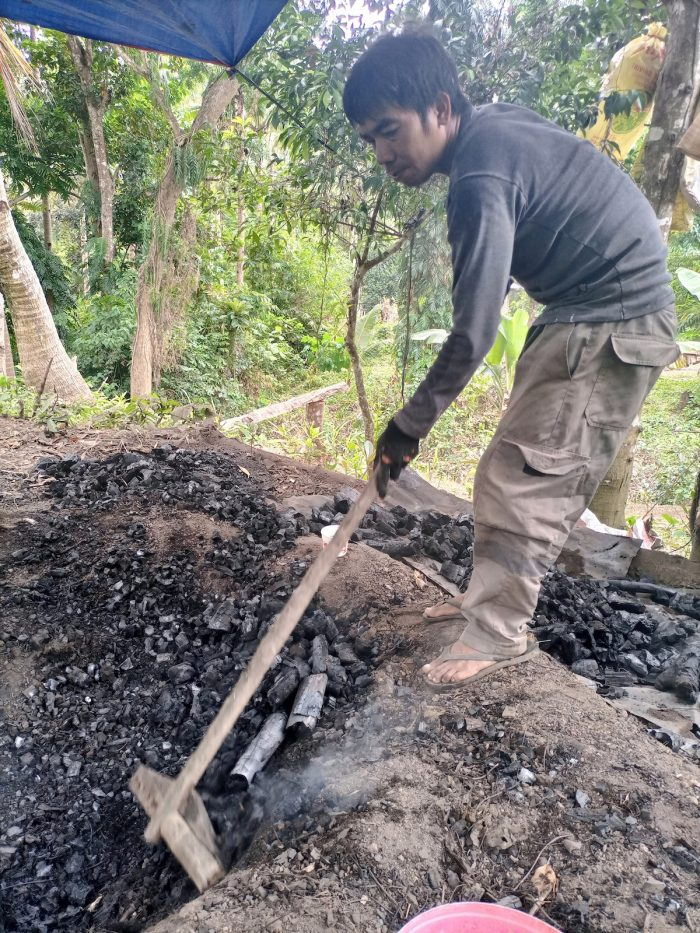 charcoal production in Romblon