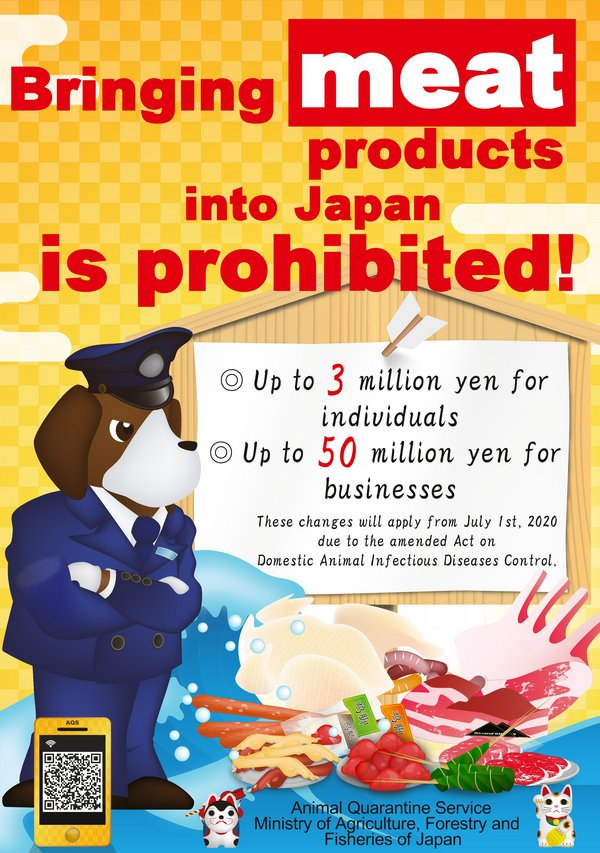 Import of meat products prohibited