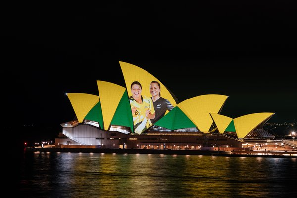 FIFA Women's World Cup 2023TM Host Nation Announcement at the Sydney Opera House