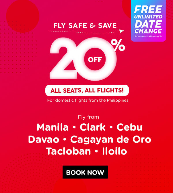 AirAsia offers discounted fares for essential travel with unlimited date change