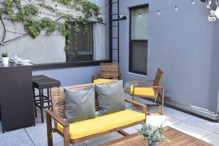Airbnb Rentals in Lower East Side with outdoor space