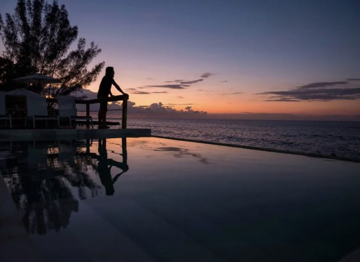 Airbnb with a beautiful sunset view in Negril