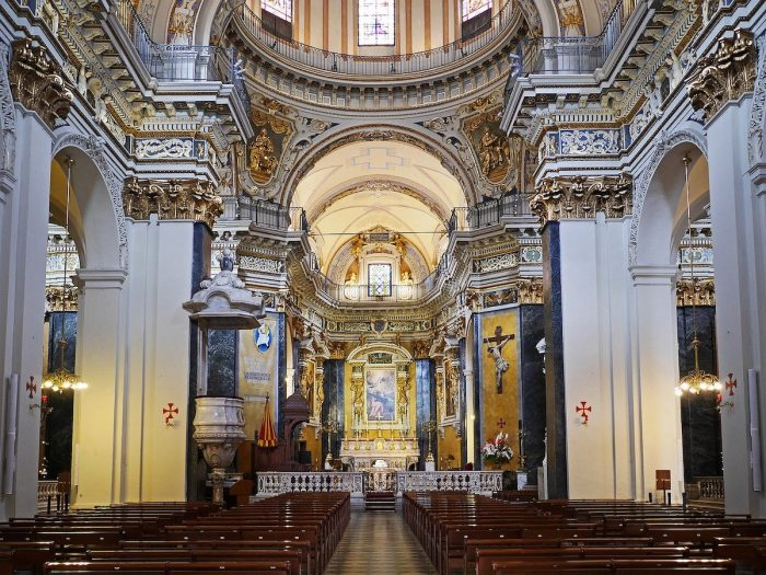 Altar of Nice Cathedral