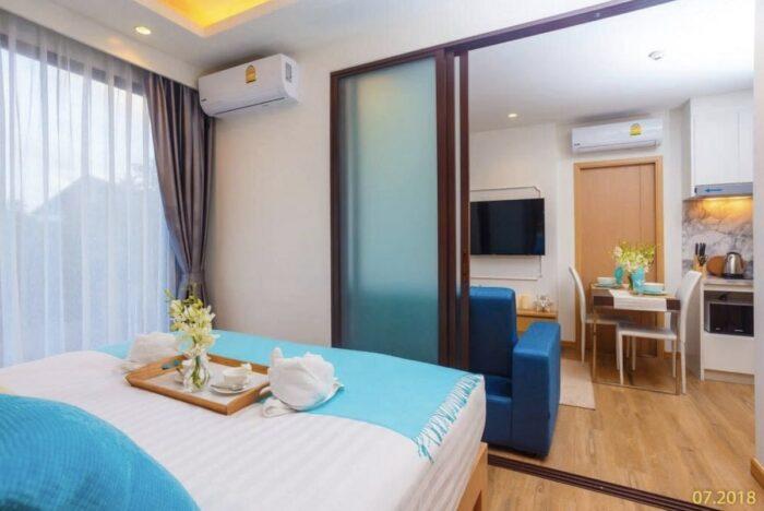 Amazing Phuket Airbnb studio apartment with Infinity pool