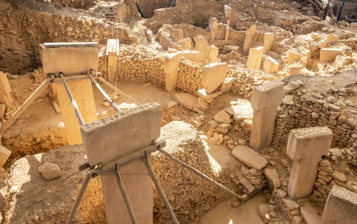 Ancient site of Gobekli Tepe in Turkey via Depositphotos