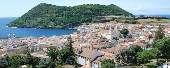 Angra do Heroismo Azores by Concierge.2c via Wikipedia CC