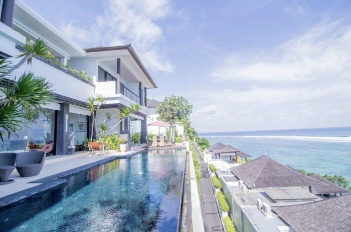 Bali Airbnb Beachfront Villa with Private Beach