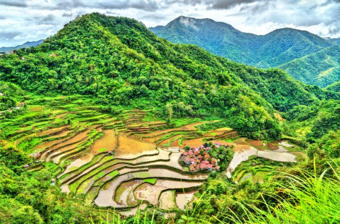 Bangaan Rice Terraces photo via Depositphotos