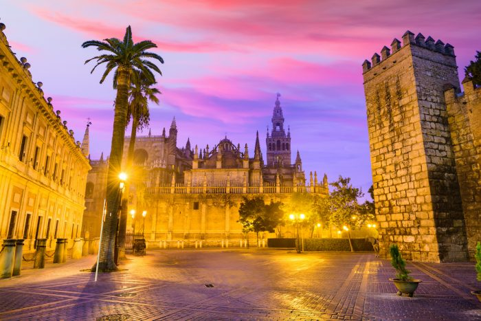 Cathedral of Seville photo via Depositphotos