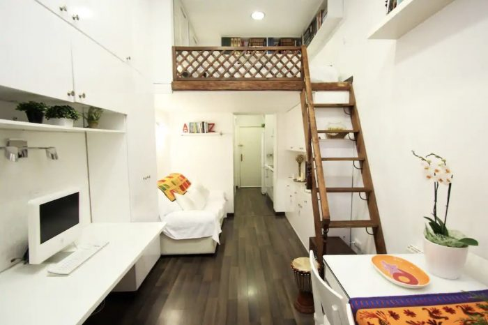 Centrally located Airbnb in Madrid