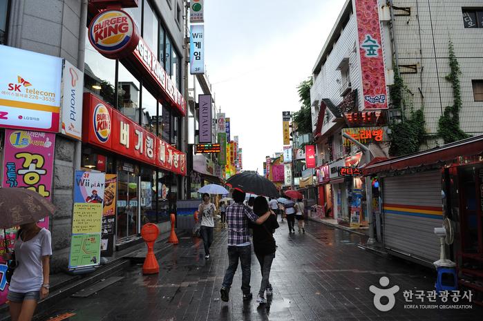 Chungjang-ro photo via VisitKorea