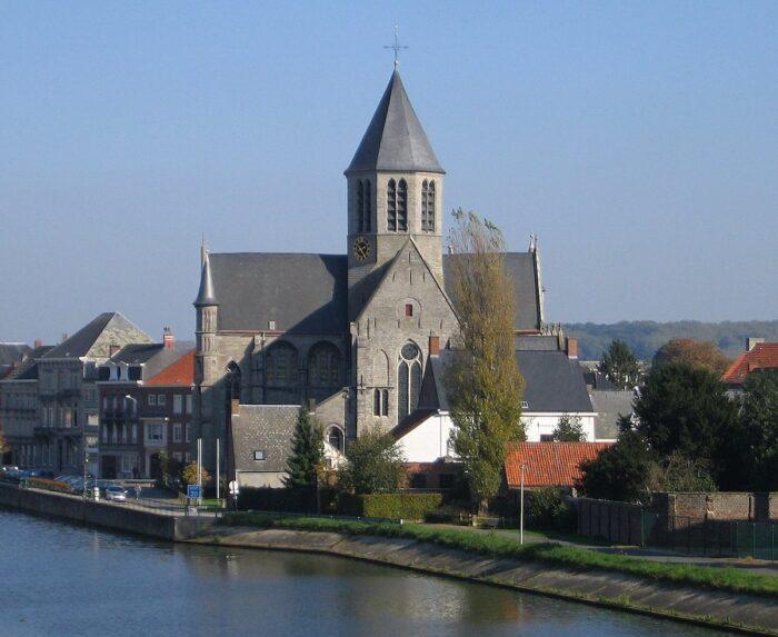Church of Our Lady of Pamele, Oudenaarde, Belgium by Tfa1964 via Wikipedia CC