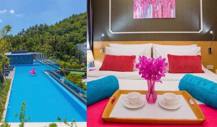 Cozy and quiet apartment rental in Phuket with great mountain vew near Surin Beach