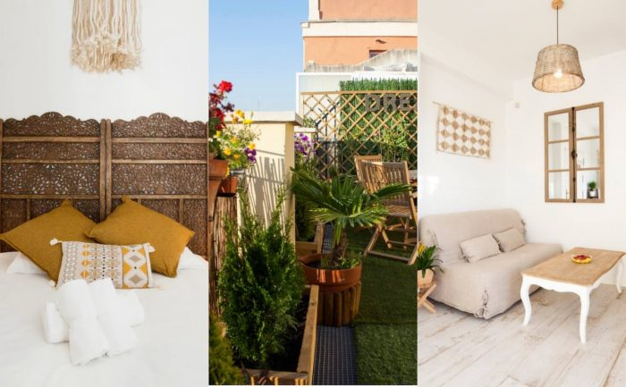 Cute Airbnb Rental in Madrid with Private Balcony