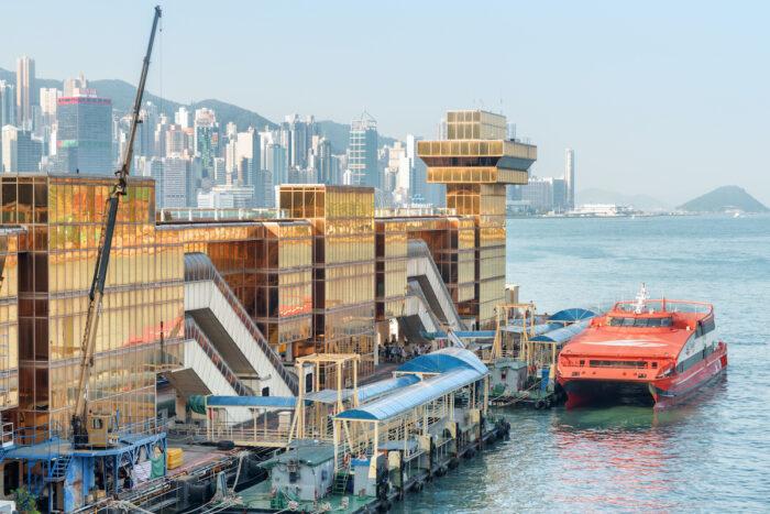 Hong Kong Ferry Terminal to Macau, Tsim Sha Tsui, Kowloon photo via DepositPhotos