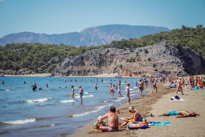 Iztuzu Beach in Turkey via Depositphotos