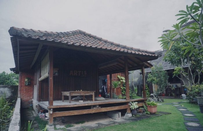 Lombok Ricefield View Backpacker Room