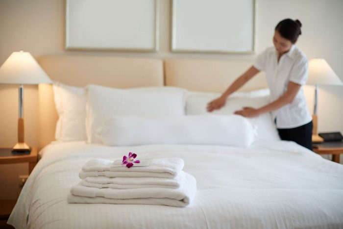 With Discovery Hospitality Corporation's Safe Spaces program, Lysol disinfectant products will be used to sanitize areas in Discovery hotels and resorts before and after each use following safety and sanitation protocols, to ensure the highest standards of hospitality and commitment to guests' safety.