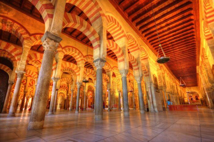 Mosque of Cordoba photo via Depositphotos.com