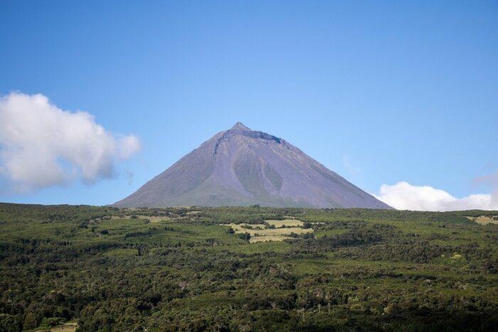Mount Pico in Azores Portugal