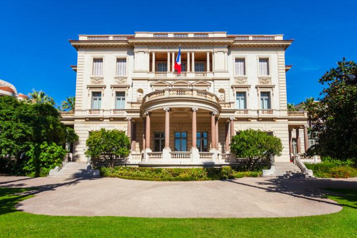 Musee Massena photo via Depositphotos