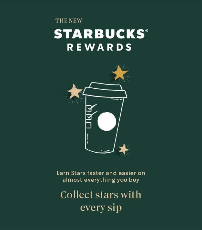 New Starbucks Rewards
