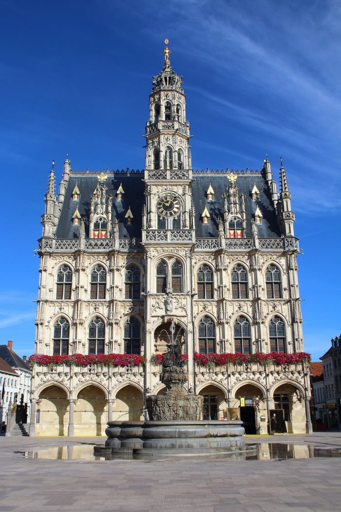 Oudenaarde Town Hall by FrDr via Wikipedia CC