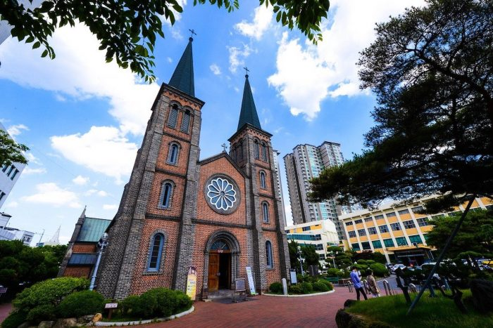 Our Lady of Lourdes Cathedral or simply Cathedral of Daegu