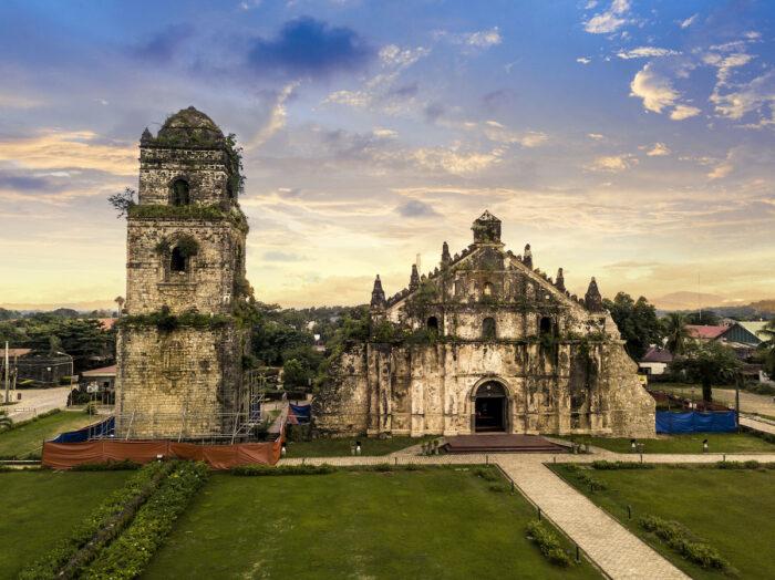 Paoay Church, Ilocos Norte photo via Depositphotos