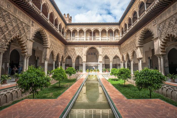 Royal Alcazar of Seville via Depositphotos