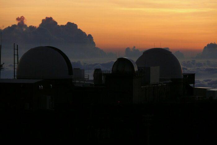 Sunset at Haleakala Observatory