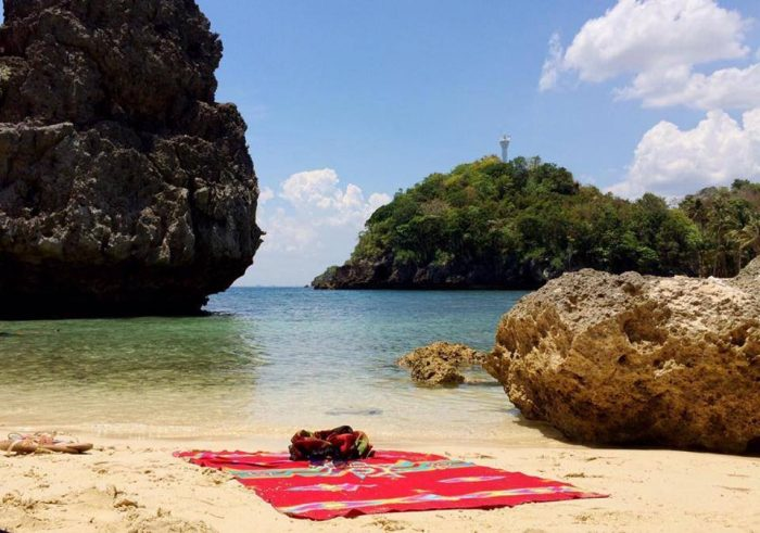 Tatlong Pulo Beach photo via Guimarasnon Around the World FB Page