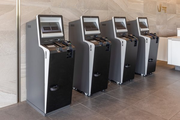 Self-check-in and check-out kiosks to minimise contact