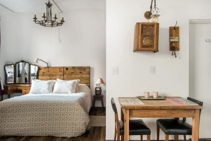 A modern and chic Buenos Aires studio apartment in a great location