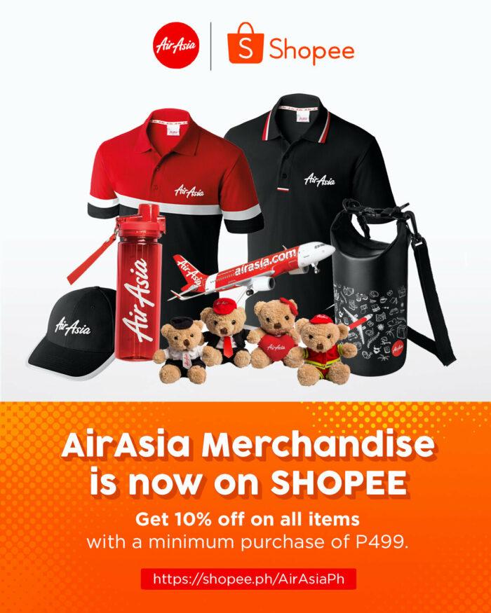 AirAsia online store on Shopee