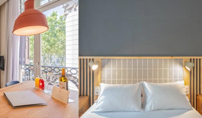 Airbnb in Barcelona close to the lively Rambla and metro station