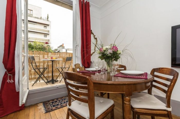Airbnb in Paris with Balcony
