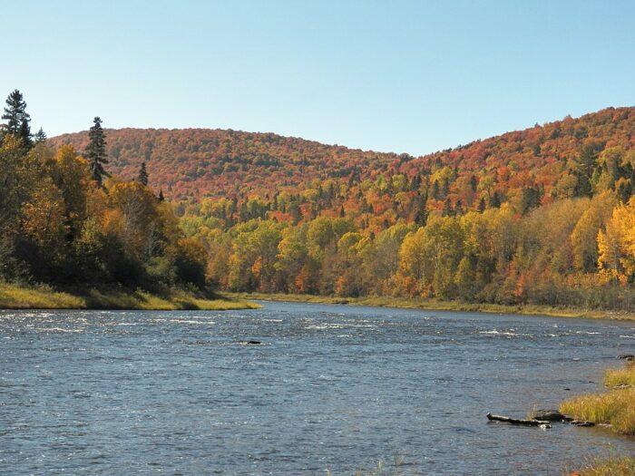Allagash Waterway by blueeyedgabriel via wikipedia cc