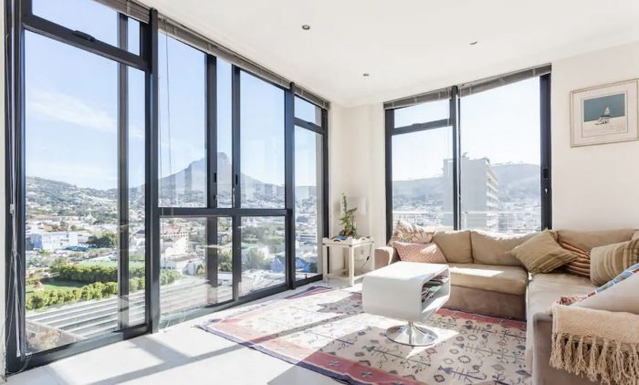 Apartment Rental in Cape Town with fantastic View