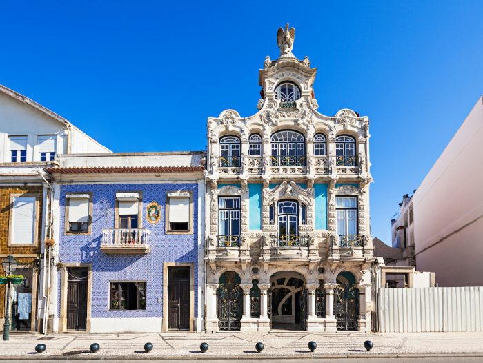 Art Nouveau Museum in Aveiro photo via Depositphotos