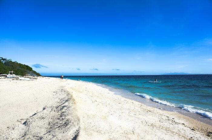 Balicasag Island in Bohol photo via Depositphotos