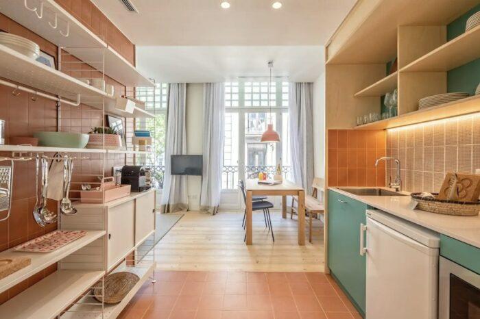 Barcelona serviced apartment in Las Ramblas