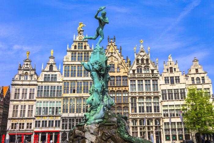 Best Things to do and See in Antwerp Belgium via DepositPhotos