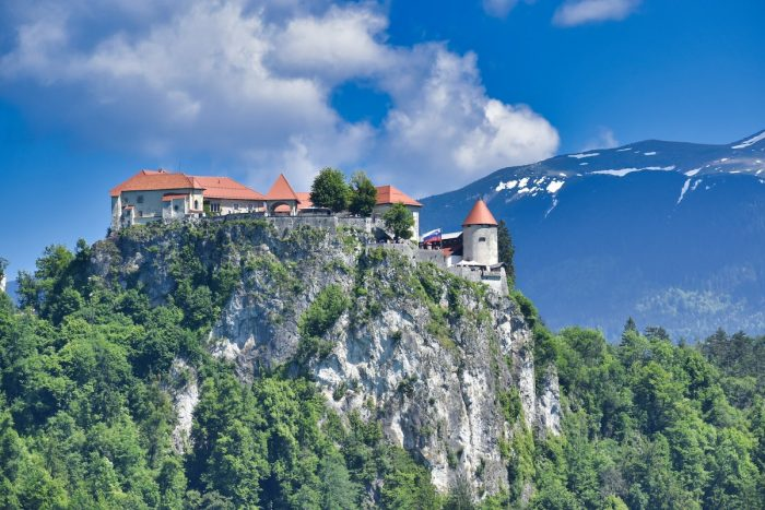 Bled Castle in Slovenia photo by Yogendra Negi via Unsplash