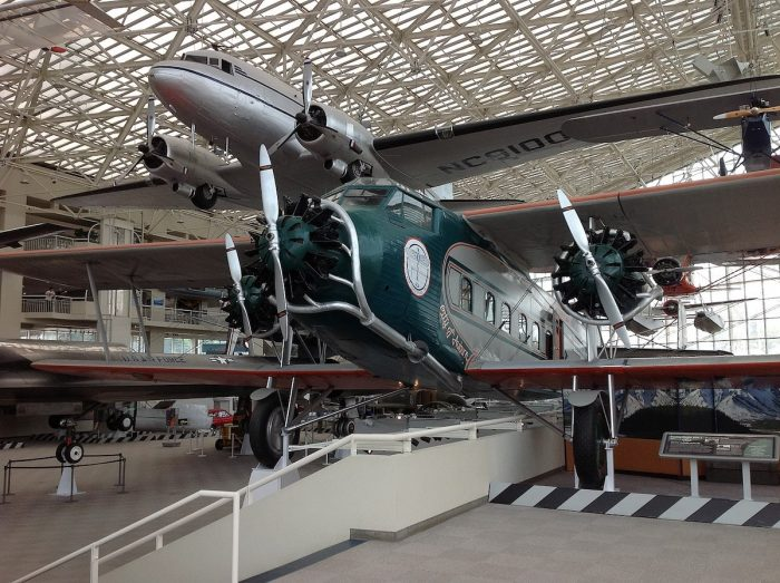 Boeing Model 80A-1 at The Museum of Flight by Zandcee via Wikipedia CC