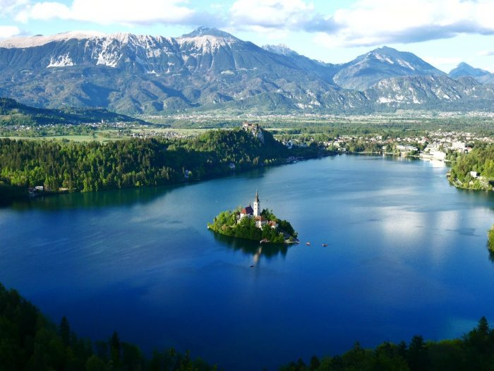 Church in Lake Bled photo by Jaka Skrlep via Unsplash