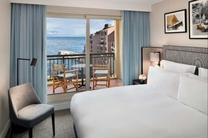 Columbus Hotel Monte-Carlo Rooms with a View