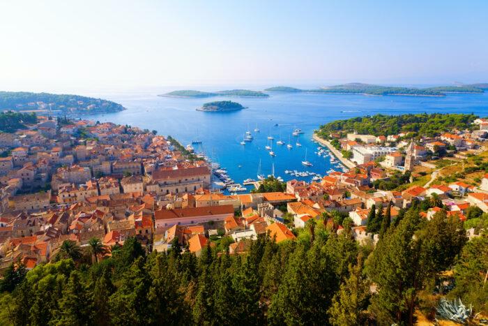 Dalmatian Islands photo via Depositphotos