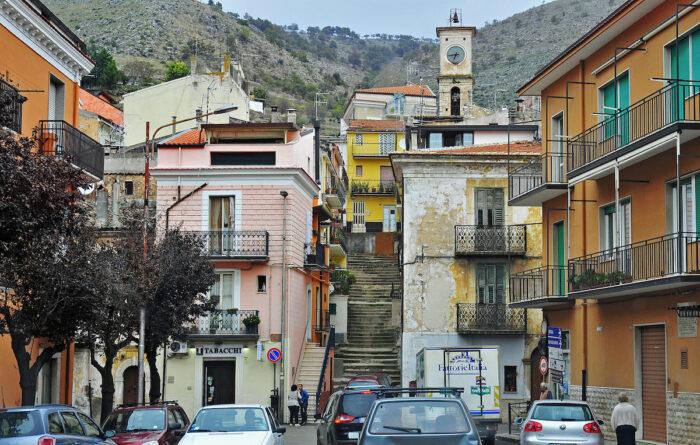 Downtown San Giovanni Rotondo.